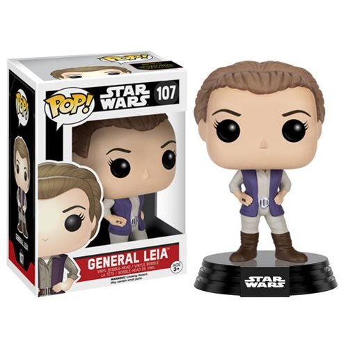 Star Wars: The Force Awakens General Leia Pop! Vinyl Figure by SW