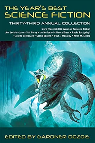 book cover of The Year\'s Best Science Fiction
