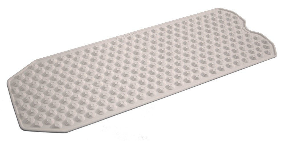 No Suction Cup Bath Mat, Made in Italy - Safe for All Ages - Bath mat for refinished tub Non-SlipBathMats 00002 01 102 6