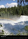 Waterfalls of North America 2018 2018: Some of the Most Beautiful Waterfalls of Canada and the Western USA (Calvendo Places)