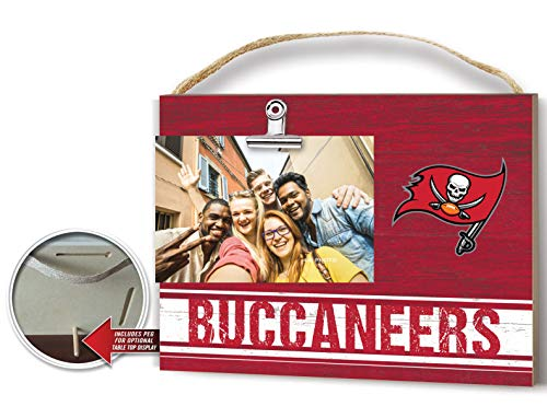 KH Sports Fan Clip It Colored Logo Photo Frame Tampa Bay Buccaneers
