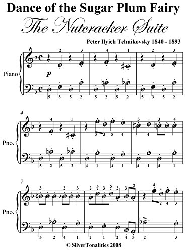 Dance Of The Sugar Plum Fairy Nutcracker Suite Easy Piano