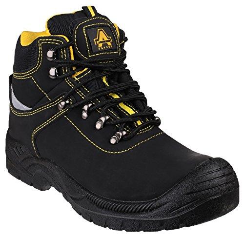 Aço Amblers, Os Homens Sapatos De Segurança Pretas