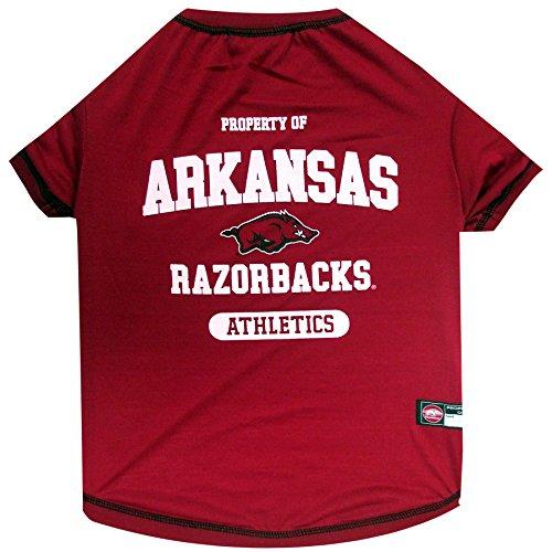 NCAA Arkansas Razorbacks Dog T-Shirt, ()