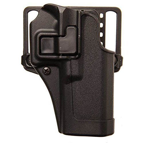 BlackHawk Serpa CQC Belt Loop and Paddle Holster For Glock 20 Right Hand Black