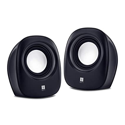 iBall Sound Wave 2-2 0 Channel Multimedia Speakers (Black)