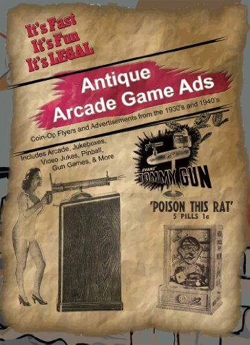 (Antique Arcade Game Ads - 1930s to 1940s)