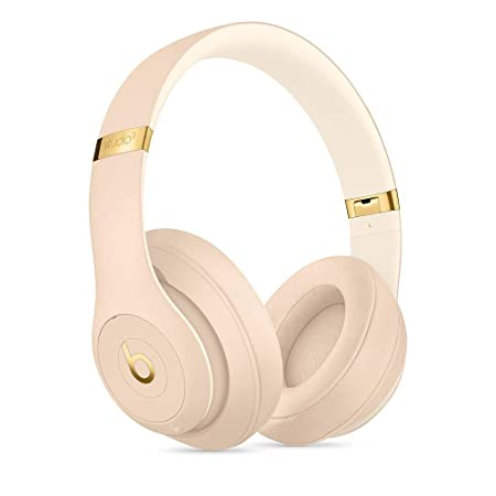 Beats S.t.u.d.io_3 Wireless Headphones Skyline Collection with Carrying Case,3.5mm RemoteTalk Cable and Universal USB Charging Cable Desert Sand