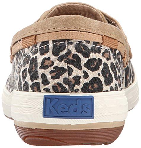 Women's Animal Shoe Keds Boat Slip Tan On Glimmer dqS8U0