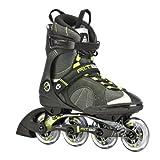 K2 Sports Men's F.I.T. 80 Fitness 2012 Inline Skates (Grey/Green, 9)