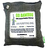 Go Bambou 100% Natural Bamboo Charcoal Air Purifying Bag (500g)
