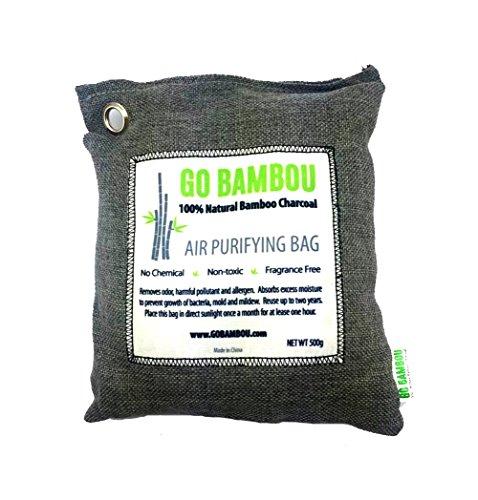 Go Bambou 100% Natural Bamboo Charcoal Air Purifying Bag – 500g (4)