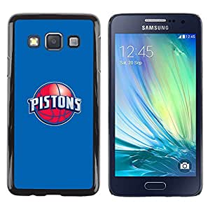 iKiki Tech / Estuche rígido - PISTONES - Baloncesto - Samsung Galaxy A3