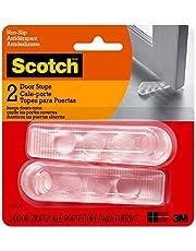 Door Stop, Transparent/Clear, 2 Pack