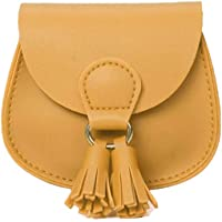 Qiekenao Kids Crossbody tas, kleine meisje kinderen portemonnee Crossbody tas kwastje Mini kinderen handtas
