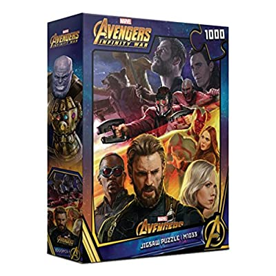 1000Piece Jigsaw Puzzle Marvel Avengers Infinity War I: Toys & Games
