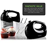 Ovente Electric Hand Mixer with 5 Speed Ultra