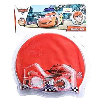 Disney Cars set mare piscina occhialini + cuffia: Amazon.it