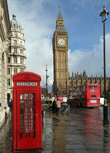 Home Comforts Framed Art for Your Wall Big Ben London England United Kingdom UK 10 x 13 ()