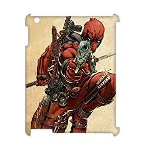 QWSPY Deadpool Marvel Phone 3D Case For IPad 2,3,4 [Pattern-3]