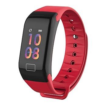 Kuerli Pulsera Inteligente,Podómetro,Monitor de Ritmo Cardíaco,Dormir,Calorías, Rastreador