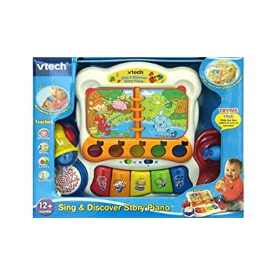 VTech Sing and Discover Story Piano: Toys & Games