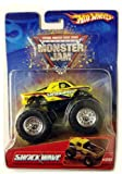 SHOCK WAVE Monster Truck / 2006 Hot Wheels / Monster Jam / #28 / 1:64 scale collectible die-cast truck