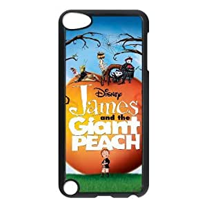 iPod Touch 5 Phone Case Black James and the Giant Peach BXF285528