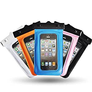 "Theoutlettablet® Funda acuática sumergible de protección para smartphone Samsung Galaxy Fame S6810 3.5"" COLOR - AZUL (Mod:S-410)"