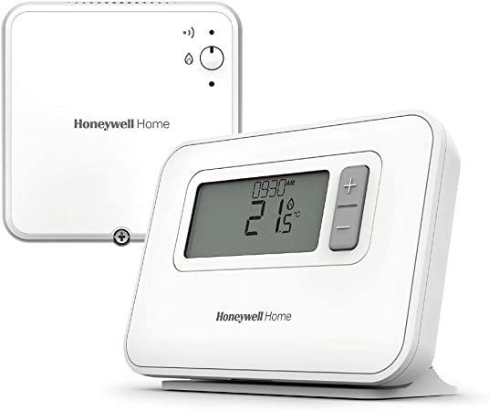 vaste sélection achat original officiel Honeywell Home Y3C710RFEU Thermostat programmable sur 7 Jours sans Fil T3R,  Blanc