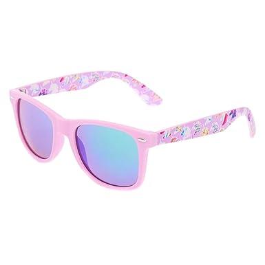 87a85d161e Claire s Girl s Purple Unicorn Retro Frame Sunglasses in Purple ...