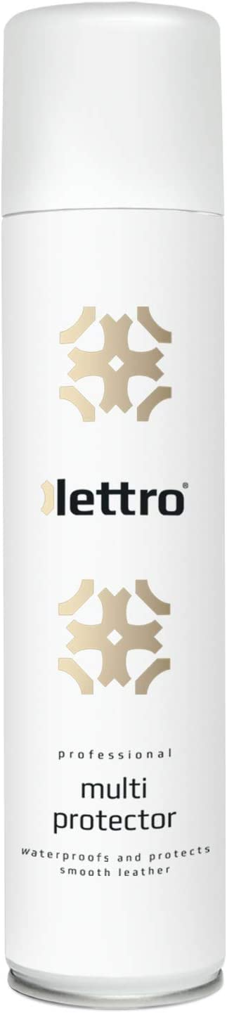 Lettro Multi Protector - Waterproofing Spray for Leather, Textile & Fabric, Water and Dirt Repellent, Equestrian Tack, Upholstery, Furniture, Jackets, Shoes & Bags, 400 ml – 13.52 fl. oz.