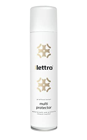 Lettro Multi Protector Spray imperméabilisant pour cuir – Spray de  protection pour cuir lisse – Protège 6c14c1665f76