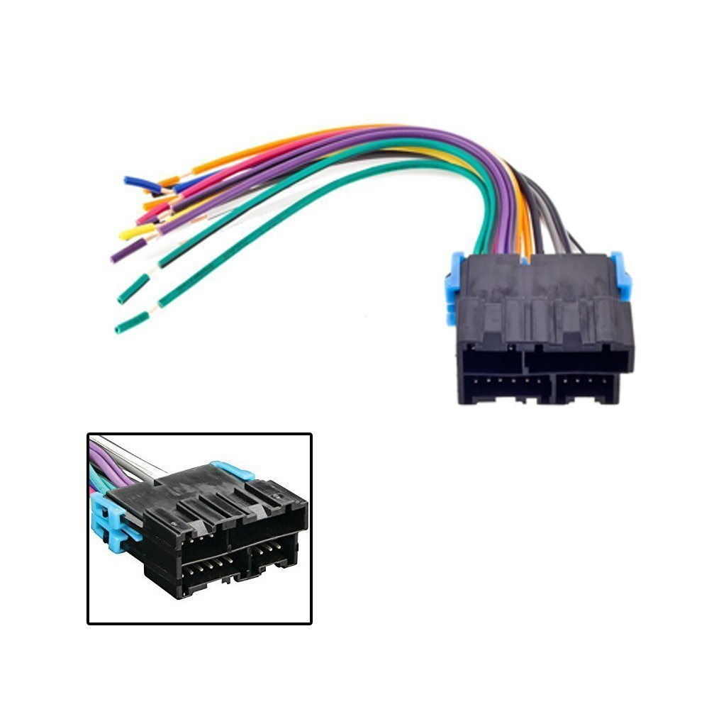 Metra 70 General Motors Wiring Harness Pioneer Car Stereo Radio Player Dash Install Mount Antenna For Cadillac Chevrolet Electronics
