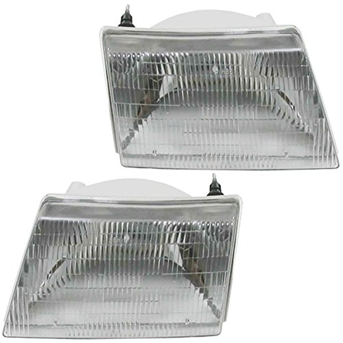 NEW 98 99 00 Mazda Pickup Truck Headlight Headlamp Pair