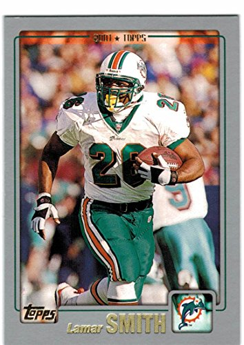 2001 Topps Miami Dolphins Team Set with Lamar Smith & Chris Chambers RC - 16 Cards