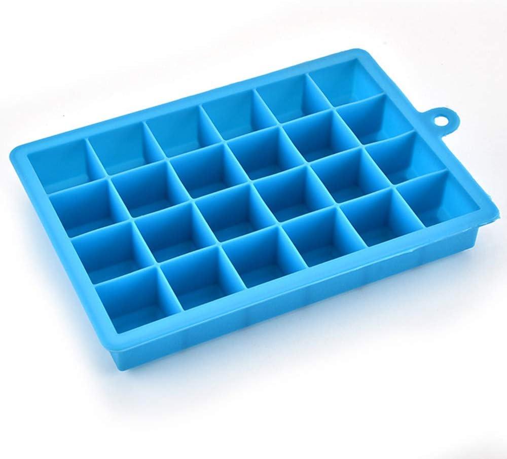 Molde de silicona para cubitos de hielo, fácil de liberar, molde ...