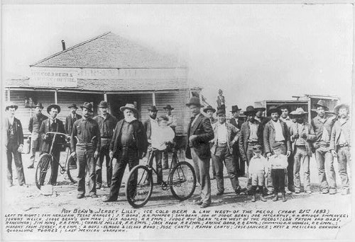 Photo: Judge Roy Bean,Jersey Lilly,Pecos,Langtry,TX,1893,Cantu,Bond,Henshaw,Welch,Tatum for sale  Delivered anywhere in USA