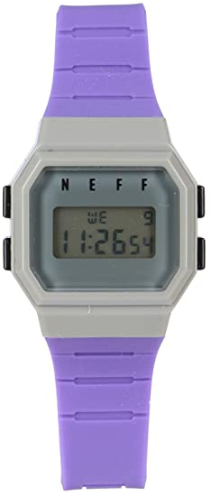 Neff adulto Flava reloj - púrpura/azul/gris talla única: Amazon.es: Relojes