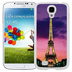 NEW Fashion Custom Designed Cover Case For Samsung Galaxy S4 I9500 i337 M919 i545 r970 l720 Eiffel Tower White Phone Case
