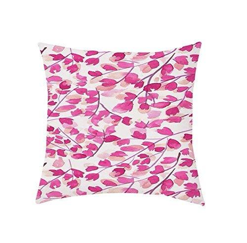 Qushion - Funda de cojín con Estampado Floral, Decorativa ...