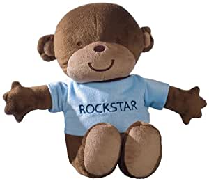 Carter's Plush Doll, Monkey Rockstar (Discontinued by Manufacturer)