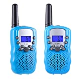 Toys for 3-12 Year Old Boys and Girls, Teen Birthday Gifts, Selieve Walkie Talkies for Kids Youth (1 Pair, Blue)