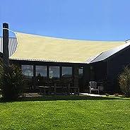 Toldos de toldos para pátios, impermeáveis, retangulares, proteção UV, para-sol, gramado, jardim, pérgola, abr