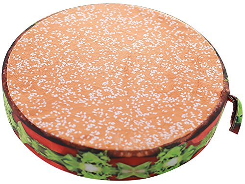 Insert Decor (ChezMax 3D Fruit Dessert Cake Chair Seat Sofa Back Stuffed Cushion Insert Filler Filling For Decor Home Office Plush Play Toy Throw Pillow Christmas Day Hamburger)