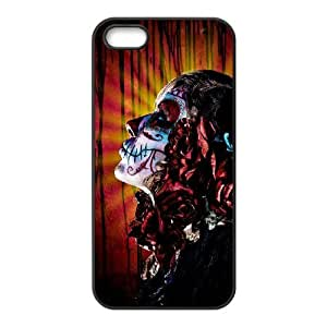 VNCASE Artistic Skull Phone Case For iPhone 5,5S [Pattern-1]