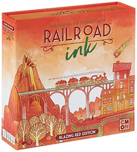 CMON RRI002 Rri002 Railroad Ink: Blazing Red - Large Railroad