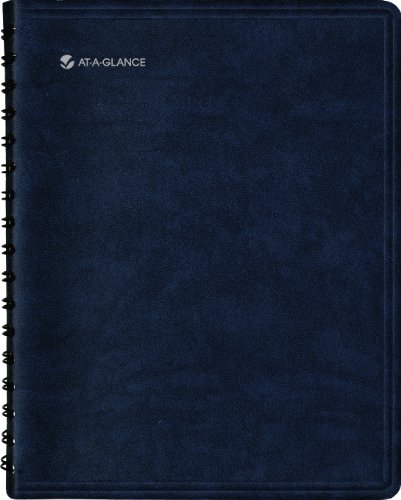 - AT-A-GLANCE 2014 The Action Planner Daily Appointment Book, Black, 7.75 x 9.13 x .63 Inches (70-EP05-05)