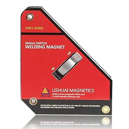 xintiandi Interruptor de Encendido/Apagado Soporte de Soldadura Magnético de Neodimio Abrazadera Accesorio Localizador de