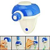 LUQUAN Convenient Practical Automatic Toothpaste Dispenser For Life Style-White And Blue